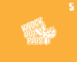 Knock-Out-Plush-Logo by whitefoxdesigns
