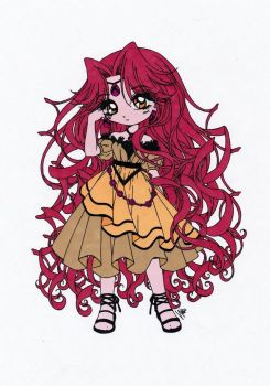 Young Beryl Colored by Maiko-Girl