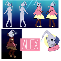 Alex - OC by AmaztasticalMuffin