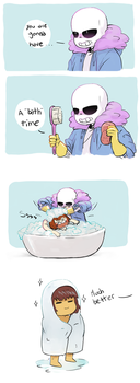 you are gonna have a bath time by royudai