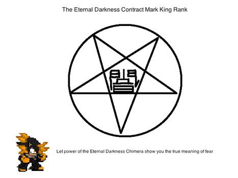 The Eternal Darkness Contract Mark King by hellkingstorm