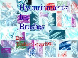 Hyourinmaru's Ice Brushes Pack by ShinigamiLover1991