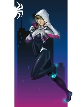 Spider Gwen Color by arm01