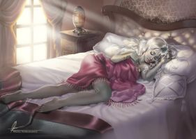 Sleeping beauty by AonikaArt