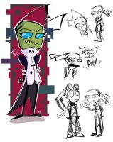 Invader Zim - Tekk and Gritz by MissInspi
