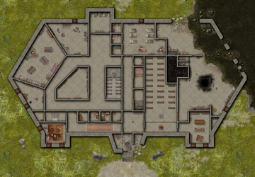 Harrowstone Ground Floor by GreenEyedLiar