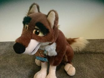 My Balto plush by Alyssaeve