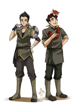 SC  Leon and Bolin by meago