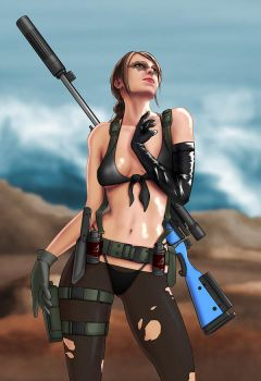 Quiet, Metal Gear Solid V by EverHobbes