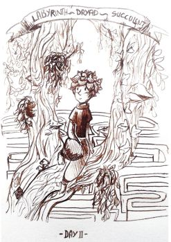 Day2 Divided-dryad-succulent-labyrinht by MisSarena