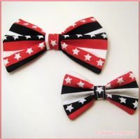 Stars and Stripes Bow 1 by Strawberryserenade