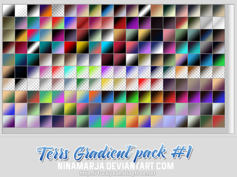 Gradient pack #1 by FishboneArt