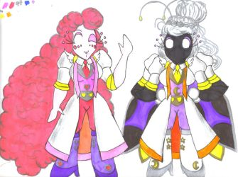 TAM - Sci-fi Scientists Ruby and Twilight by Winter-Colorful