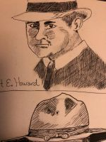 Robert E Howard by GentlestGiant
