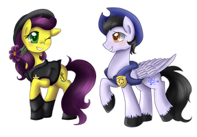 Comm: Ambrosia and wing by pridark