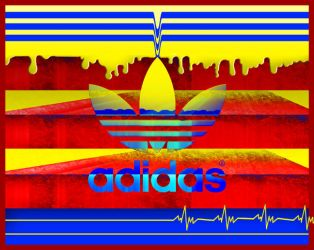 adidas stripe-it-rich by hotrats51