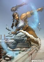 Avatar: The Legend of Female Muscle Growth by muscle-fan-comics
