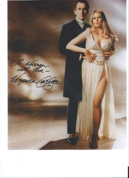 Hammer Actress Veronica Carlson's autograph 2 by wemayberry