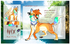 Nix -CLOSED AUCTION- by Luciiid