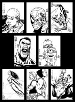 Sketch cards 5 by PENICKart