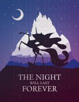 THE NIGHT WILL LAST FOREVER by PeterCJiang