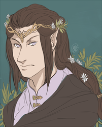 Neji The Elf Prince by NillaKiwi
