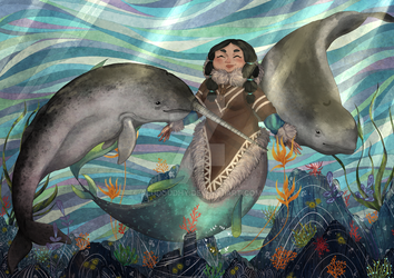 Mermaid - Inuit by Aludoudhy
