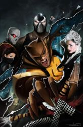 Secret Six 19  - by DanLuVisiArt