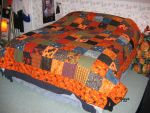 Halloween Quilt 2 by ThreeRingCinema