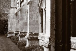 Laycock Abbey - Passage Wall by Alex88M