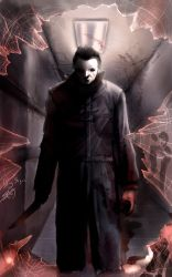 Michael Myers Colored DVD by DougSQ