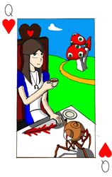 Queen of Hearts: Alice Liddell by Shadymissionary