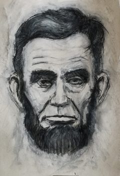 A. Lincoln sketch ..again by moo-foo