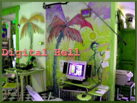 Digital Hell by arnoldedmondson