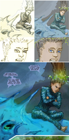 Saltwater Witch Page Progressi by the0phrastus