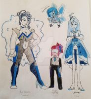 Gemsona designs by Ozafallenheart