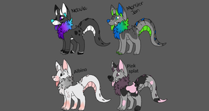 Monster dog Collab auction (2/4 open) by ToastyFroakieAdopts
