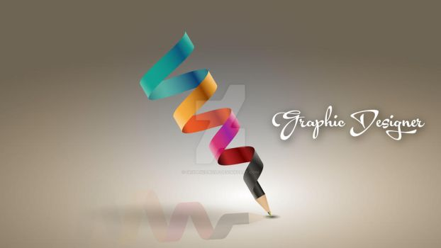 Pencil Graphic Designer by GraphicsWolf