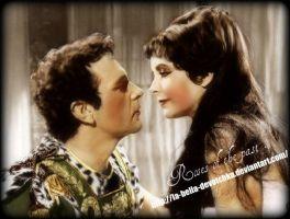 Cleopatra and Mark Antony by La-Bella-Devotchka