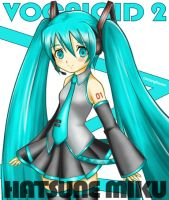 Hatsune Miku - Vocaloid2 by lintanghaseo