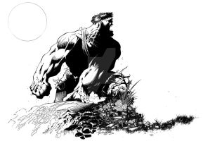 Old Hulk drawing by TimTownsend