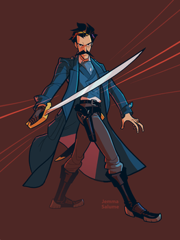 Carnacki by oxboxer