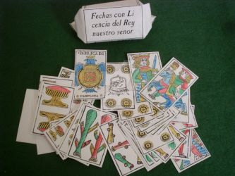 Navarrese playing cards, 1602 model by Iagoba-F