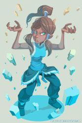 Korra by Drunken-Novice