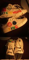 My Chemical Romance Killjoy Shoes- MCR shoes-Etsy by a-chelsea-grin