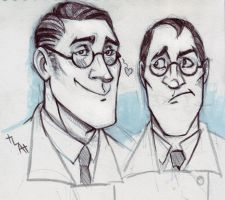 TF2 - Medic (sketches) by Northern-god