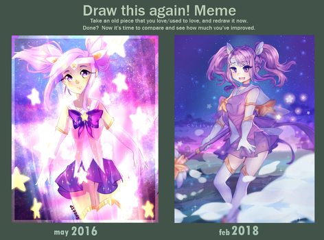Draw this Again ! Lux Star Guardian Edition by A-O-SweetP
