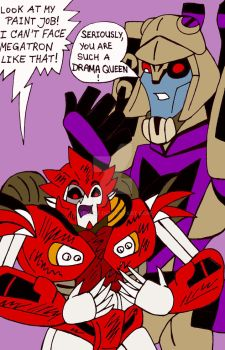 TF: Blitzwing X Knockout by xero87