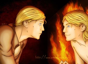 The Mask and Mirror by Yzabel
