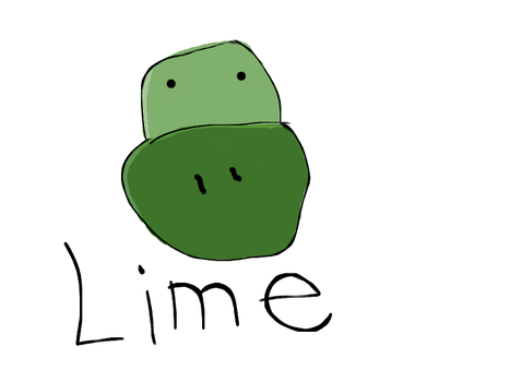 Lime Cartoon by limevalted